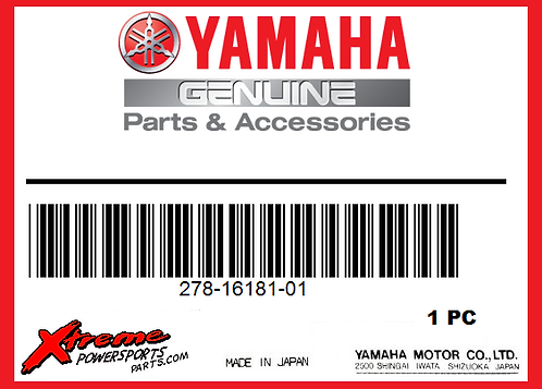 Yamaha 278-16181-01 - SPACER 1