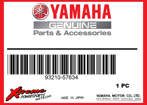 Yamaha O-RING 93210-57634