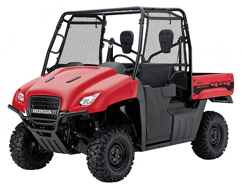 2011-2012 Honda Big Red Test Item