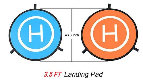 3.5 FT Drone UAS Landing Pad
