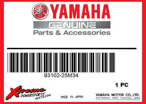 Yamaha 93102-25M34-00 - OIL SEAL