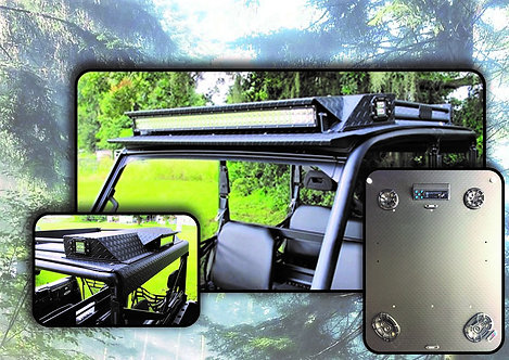 DSP MK6 STEREO ROOF WITH LED LIGHTS FOR POLARIS RANGER 1000/900/570/XP570