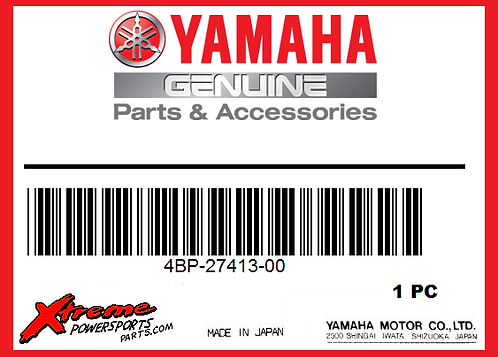 Yamaha 4BP-27413-00-00 - COVER, FOOTREST