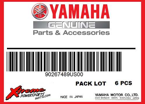 Yamaha RIVET, BLIND 90267‑489US00