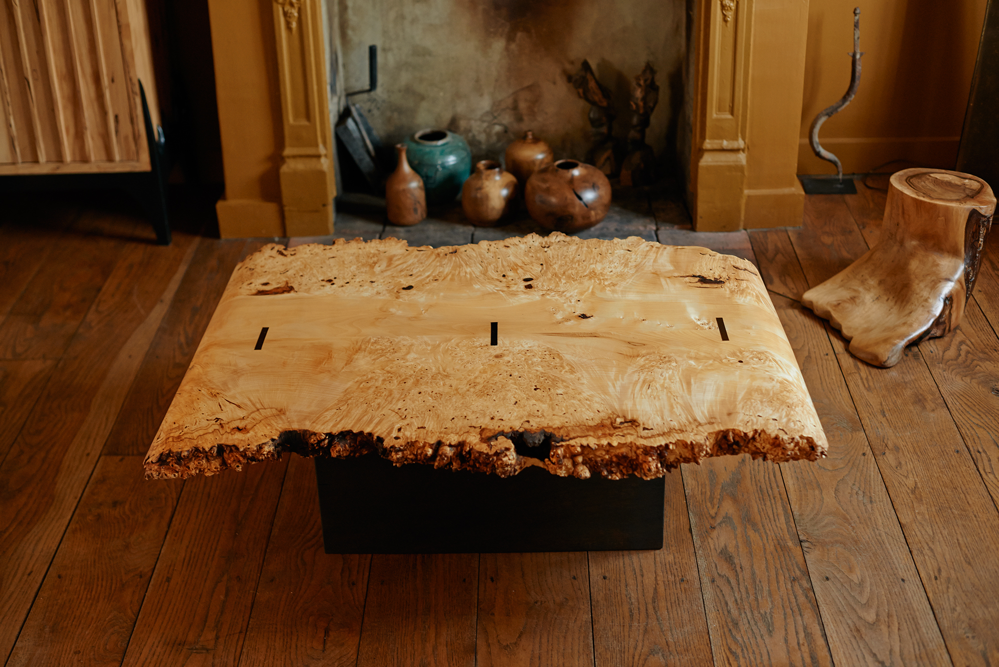 Chestnut Burr Table