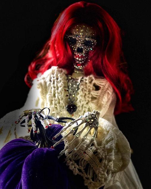 Eleanor Skeleton- bedazzled skeleton model