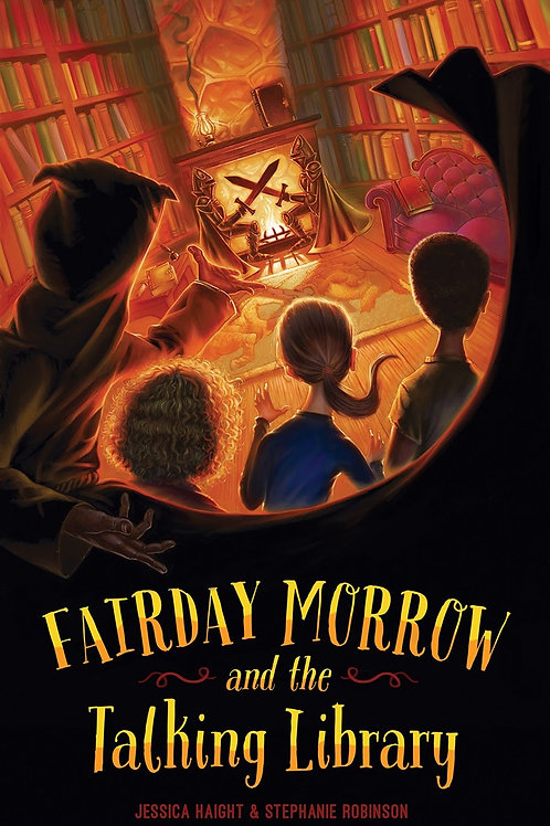 Fairday Morrow and the Talking Library- Hardcover