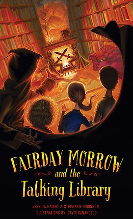 book 2 in the Fairday Morrow series, middle grade mystery, library, young sleuths