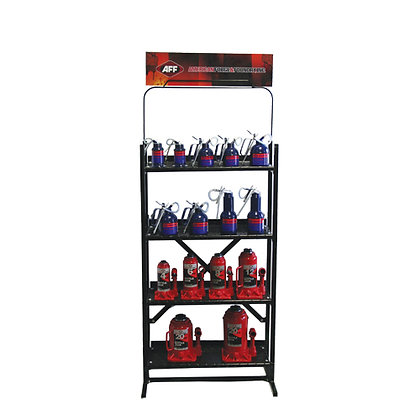 4-SHELF VERTICAL DISPLAY