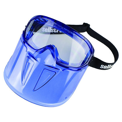 GPS300 Premium Safety Goggle with Detachable Face Shield