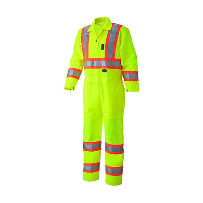 Hi-Vis Traffic Safety Coverall