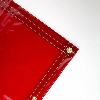 Orange Transparent Welding Curtains