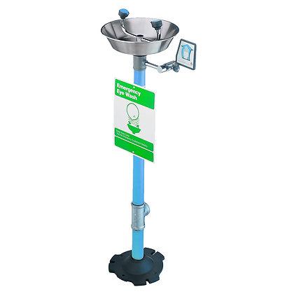 Pedestal Mounted Face/Eyewash Unit