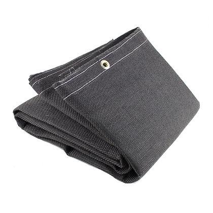 Vermiculite Coated Fiberglass Welding Blanket Black