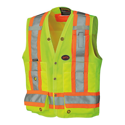 Woven 150D Multi-Pocket Surveyor Vest