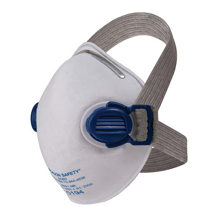 R10 N95 Particulate Respirator with Comfort Straps & Dual Valves