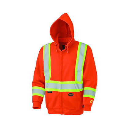 Flame Resistant Zip-Style Heavyweight Cotton Safety Hoodie