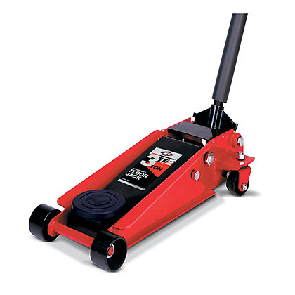 3.5 Ton Professional Heavy Duty Floor Jack - 2 PC Handle
