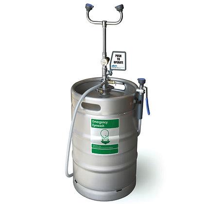 15 Gallon Portable Pressurized Eyewash/Drench Hose Unit