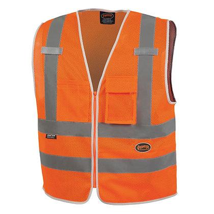 Mesh 8-Pocket Safety Vest