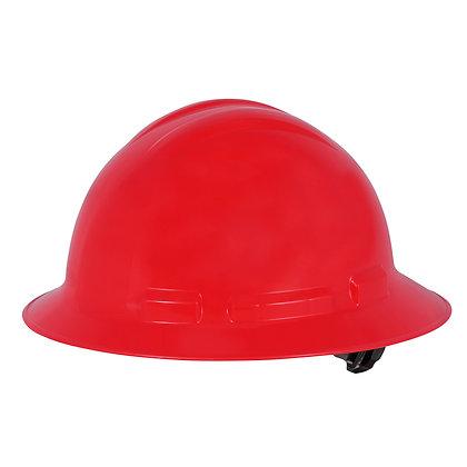 Full Brim Hard Hat Red