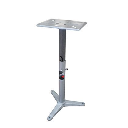 ADJUSTABLE HEIGHT BENCH GRINDER / VISE STAND