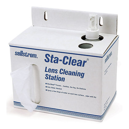 Sta-ClearTM Lens Cleaning Stations
