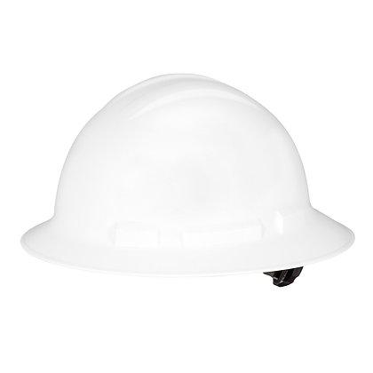 Full Brim Hard Hat White