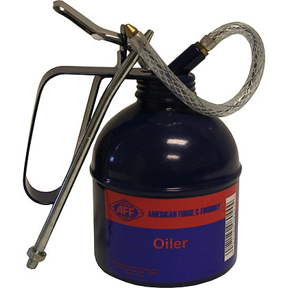 16 OZ. OIL CAN w/SPOUTS