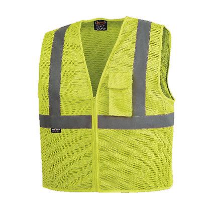 Zip-Up Safety Vest