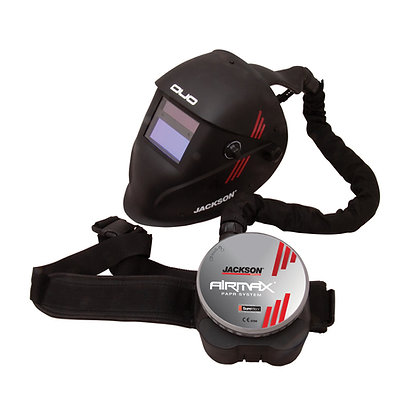 AIRMAX PAPR System with DUO Welding Helmet