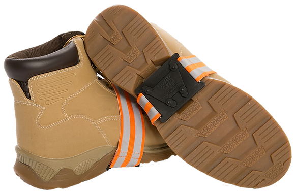 Mid-Sole Non-Defined Heel Traction Aids