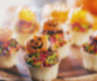 Birthday Cupcake October Pumpkins