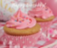 Happy Birthday Cupcakes Pink
