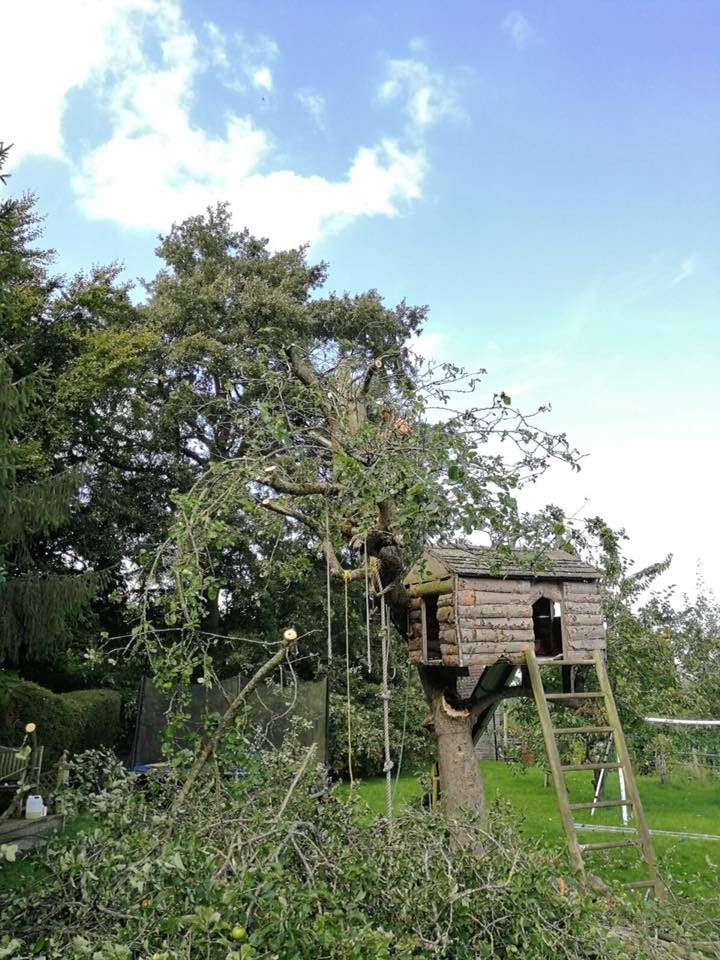 Part way through our tree reduction