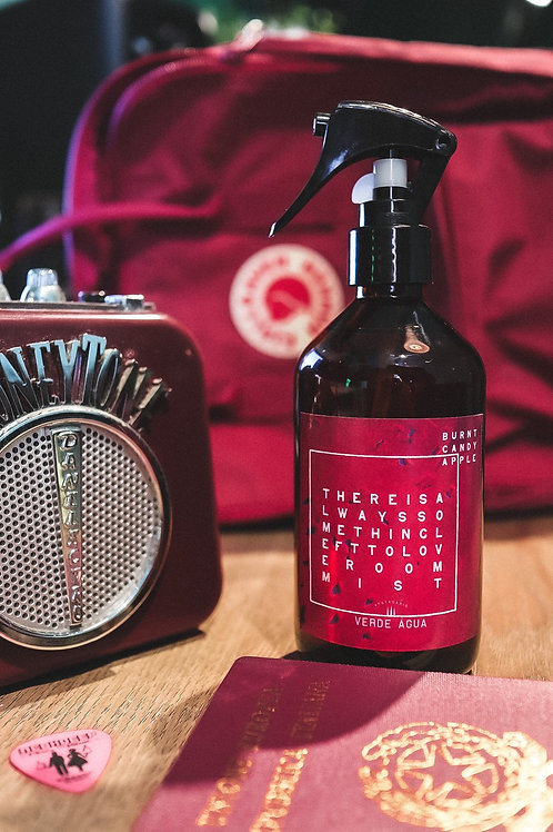 There is always something left to love - Burnt Candy Apple Room Mist