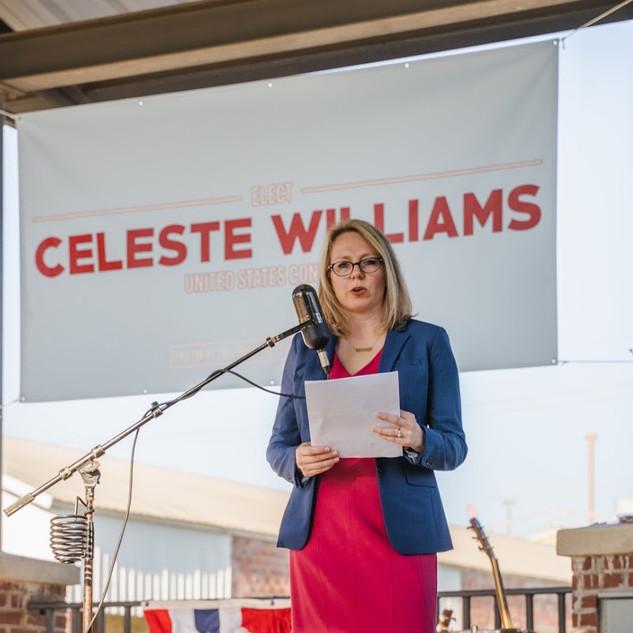 Celeste at Kickoff