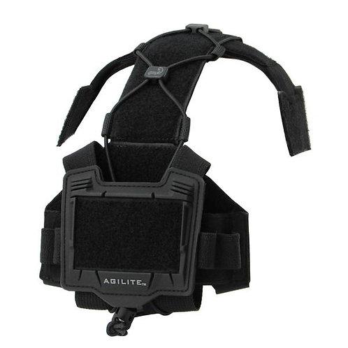 Agilite Gear タクティカル ヘルメット ブリッジ アクセサリープラットフォーム ブラック