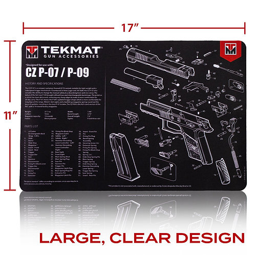 TekMat CZ P07/P09 クリーニングマット