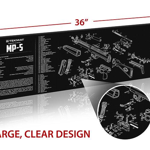 TekMat Heckler & Koch MP5 クリーニングマット