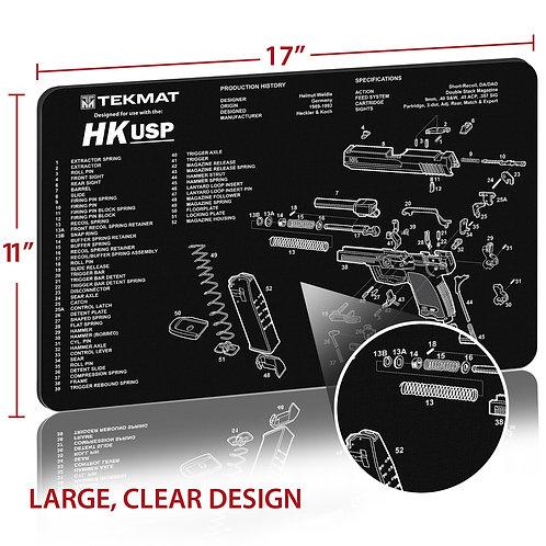 TekMat Heckler & Koch® HK USP クリーニングマット
