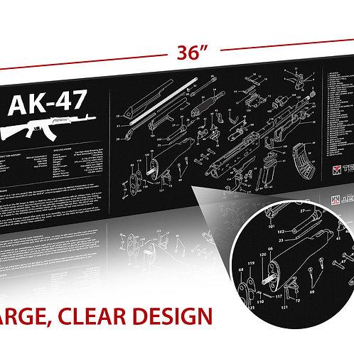 TekMat AK47 クリーニングマットの複製