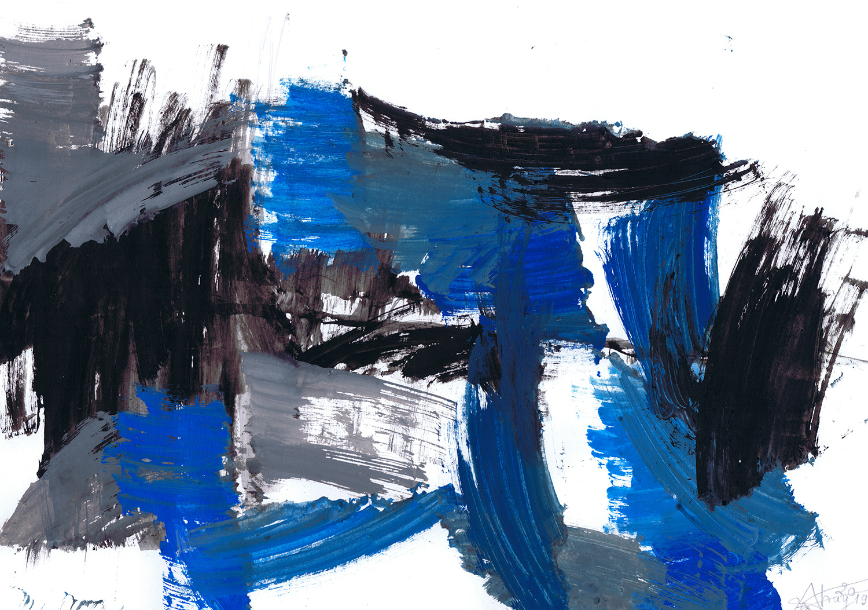 La transformation du bleu