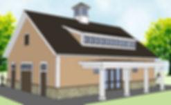 Tennis Pavilion 3D Model