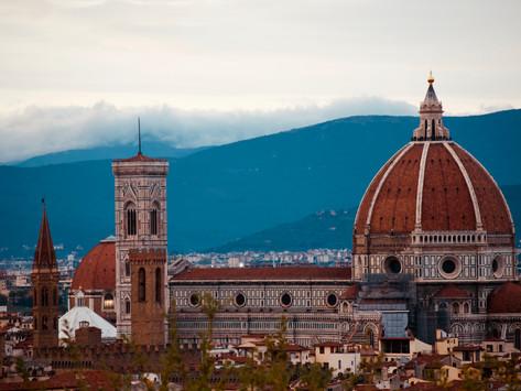 Florença e Bolonha, cidades cheias de história e  que enchem a vista!