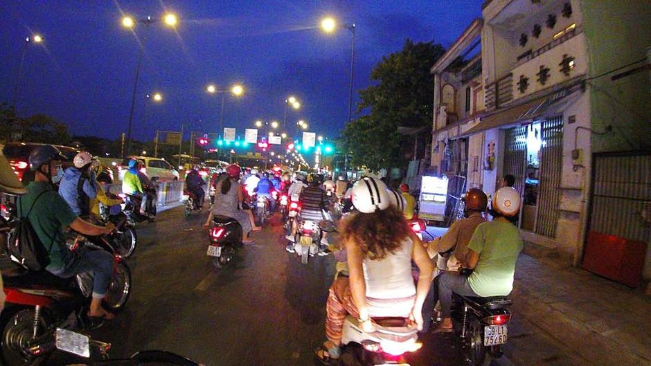 Chegar a Ho Chi Minh, um viver de emoções fortes