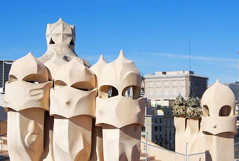 Barcelona é uma pedra...