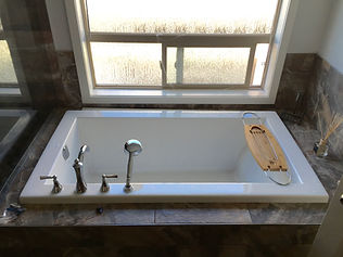 Custom bath tub