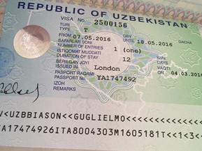 (ITA) Prossima destinazione Uzbekistan