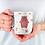 Thumbnail: Стилна чаша за кафе с илюстрации на Мечки-вар.18